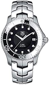 TAG Heuer Men's WJ1113.BA0575 Link Diamond Accented Quartz Bracelet Watch image