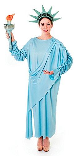 Costume de Statue de la Liberté Bristol Novelty AC389 - Taille 38-42