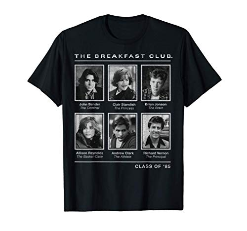Breakfast Club Year Book Club Photos T-Shirt