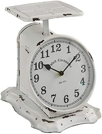67% OFF New products, world's highest quality popular! of fixed price Scale Clock White