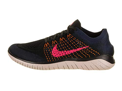 Nike Men's Running Shoes, Multicoloured Black Flash Crimson Orange Peel 068, 13 UK
