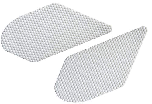 NEX Performance Motorcycle Tank Traction Pad Protector, Universal, White