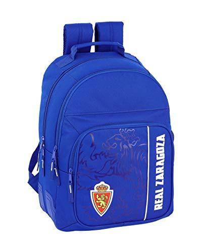 Real Zaragoza Oficial Mochila Escolar 320X150X420mm