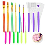 Magicfour Cake and Cookie Decorating Supplies Kit, 15 Pack Cake Decorating Tool and 30 Pcs Piping Bags, Cake Sculpting Modeling Tools for Fondant Cookie Icing Sugar and Chocolate Decoration