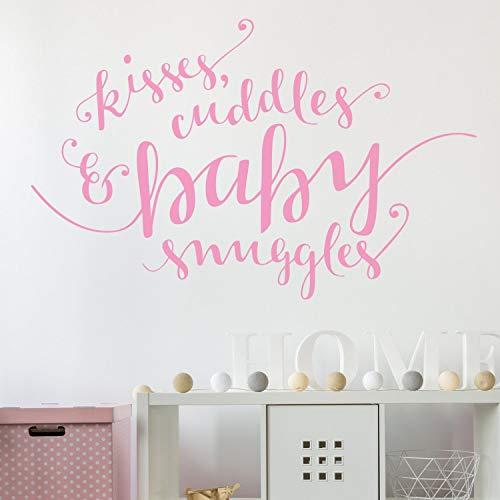 Muursticker kussen en knuffels stickers muur tattoo muur kunst muur citaat Home Decor muur Decor muurstickers Baby 53cm X84cm