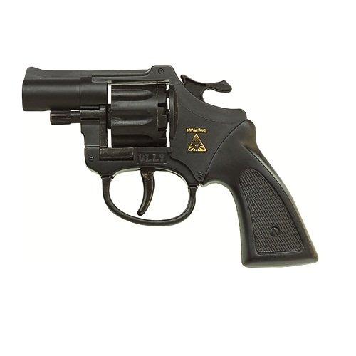 Pistola revolver Action Colore: nero ricaricabile con 8 munizioni