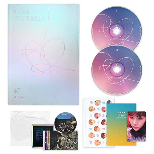 LOVE YOURSELF 結 ANSWER [ S ver. ] - BTS Album 2CD + Photobook + Mini Book + Sticker Pack + FOLDED POSTER + F.G