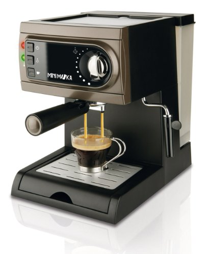 Mini Moka Espressomaschine centimeters grau