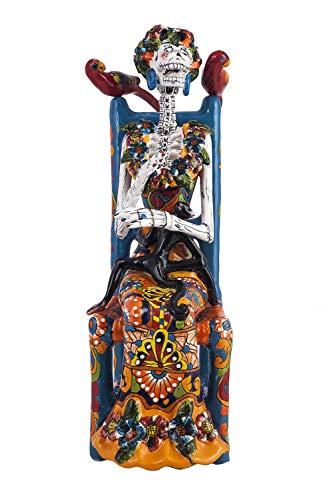 Frida Sentada - Figura tradicional de Talaver de Mxico