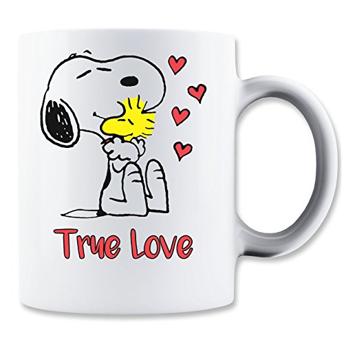 Snoopy True Love Mug
