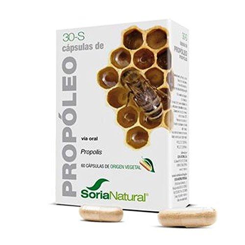 30-S Propoleo 30 Capsulas de Soria Natural
