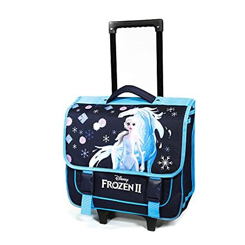 Disney Frozen/Frozen 38 cm Navy Blue Bagtrotter School Bag on Wheels