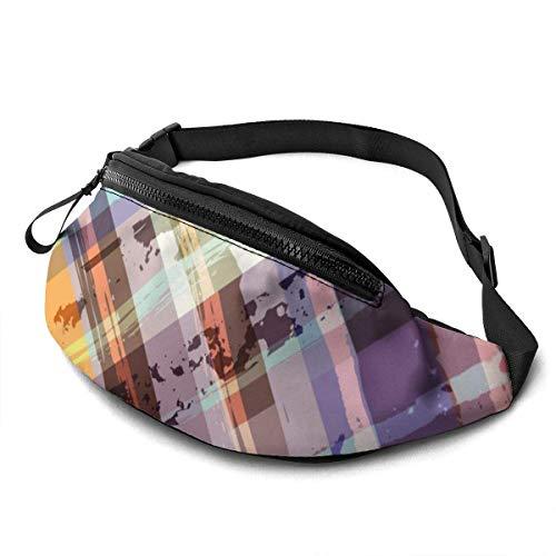 XCNGG Bolso de la cintura del ocio bolso que acampa bolso del montañismo Waist Pack Bag for Men&Women, South of China Scenery Utility Hip Pack Bag with Adjustable Strap for Workout Traveling Casual Ru