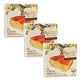 Biscuiterie de Provence Pastel de almendras y vainilla Sin gluten y sin conservantes - 3 x 240 Gramos