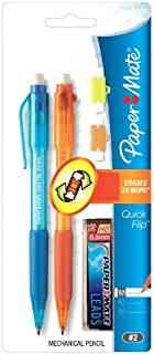 Paper Mate Quick Flip Mechanical Pencil Set 0.7mm - Assorted Colours