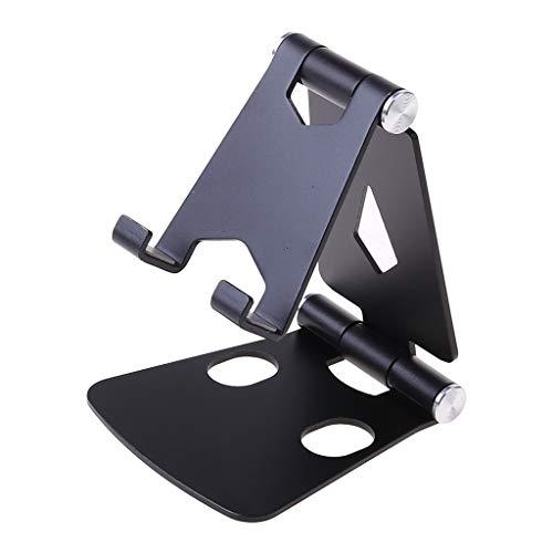 Buwei Soporte de Escritorio Ajustable de múltiples ángulos de Aluminio iPhone iPad Teléfono Celular Smartphone Tablet