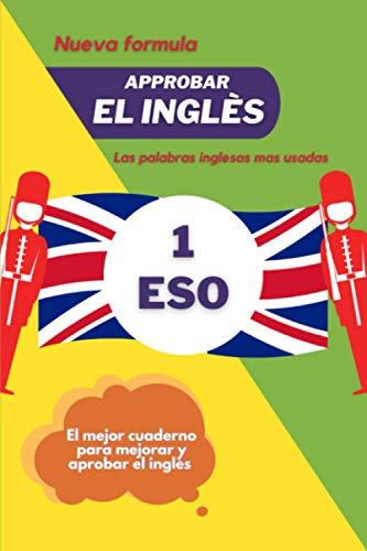 Cuaderno de vocabulario inglés 1 ero de la eso: Cuaderno de vocabulario Ingles 1 ero de la eso | 15.24 x 22.86 CM, 105 paginas | Libro de traducción ... | Recordatorio personal par mejorar su inglés