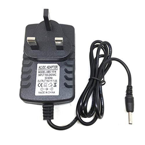 Bellaluee Reemplazo 21W 15V 1.4A AC/DC Adaptador de Fuente de alimentación para Amazon Echo Altavoz inalámbrico Fire TV Cargador 3 Modelos Adaptador de Corriente