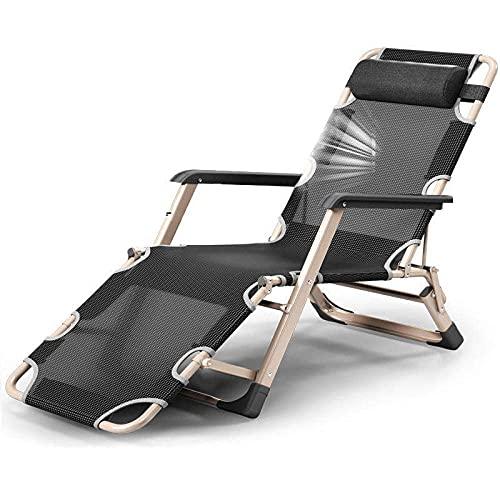 WGFGXQ Adjustable Recliner,Reclining Garden Sun Lounger Reclining Chair, Portable Textilene Adjustable Zero Gravity Recliner, Beach Patio Garden Camping Zero Gravity Chairs-4