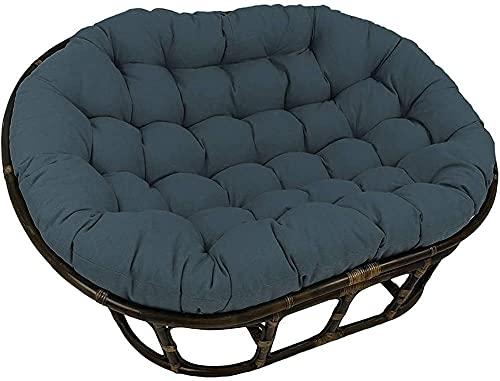 Meishikanka Lagre Double Papasan Chair Cushion,68-inch Waterproo f Replacement Not Rattan Frame Caravan Pads,for Indoor Outdoor Swing Chair Cushion For Outdoor Garden 172x120x15cm