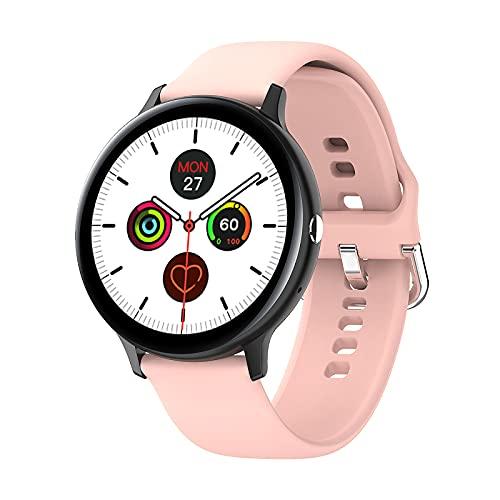 Smart Watch Fitness para rastreador con Actividad para rastreador con 1,3 Pulgadas para la Pantalla táctil IP68 podómetro Impermeable con sueño, para Hombres y Mujeres