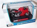 Maisto Ducati supersport S bici rossa e nera in scala 1:18 modello pressofuso