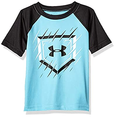 Under Armour Boys' Toddler Raglan SS Tee Shirt, Surfs Up-S19, 2T