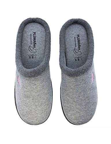 Zapatillas de casa para mujer divertidas fabricadas en España Roal 12119 Gris - Color - Gris, Talla - 39