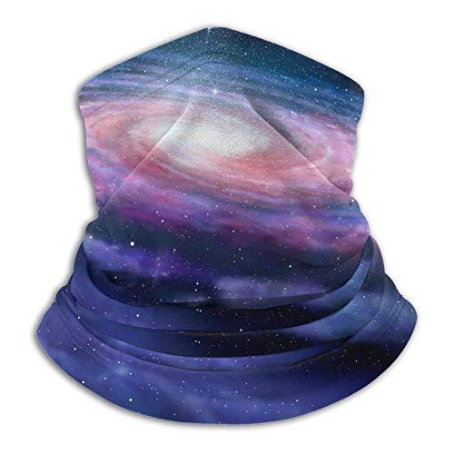 Coodream Espiral Galaxy - Polaina de cuello multifuncional de microfibra a prueba de polvo, pasamontañas, bandanas, calentador de cuello, bufanda para deportes al aire libre y clima frío