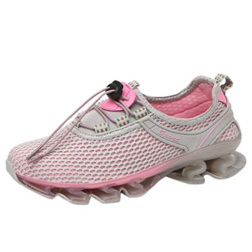 NYGSTORE Best Running Shoes for Women 2019,Women Fashion Outdoor Water Shoes Sports Casual Women Water Shoes Pink