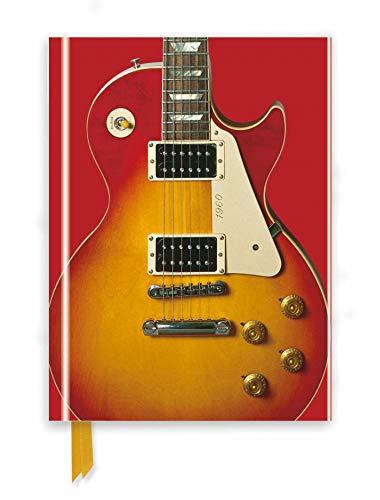 Premium Notizbuch DIN A5: Gibson Les Paul Guitar, Sonnenrot: Unser hochwertiges, liniertes Blankbook mit festem, künstlerisch geprägtem Einband und ... Notizbuch DIN A 5 mit Magnetverschluss)
