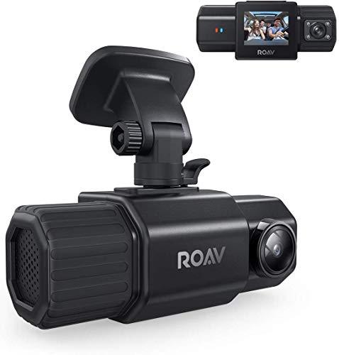 Anker Roav DashCam Duo(高性能ドライブレコーダー)【デュアルカメラ / 1080p フルHD録画 / 広角カメラ / スーパーキャパシタ / IRナイトビジョン / GPS搭載 / Gセンサー】(WiFi及びアプリ非対応)