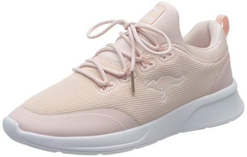 KangaROOS Damen KF-A Glide Sneaker, Dusty Rose 6058, 41 EU