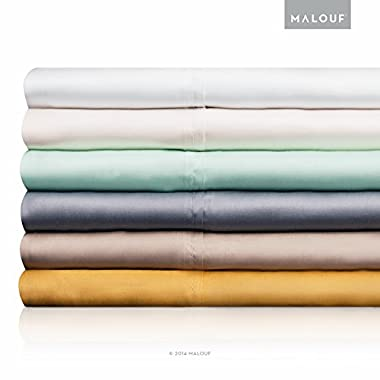 woven TENCEL Sheet Set - Silky Soft, Refreshing and Eco-Friendly - Queen Sheets - Harvest - 4pc