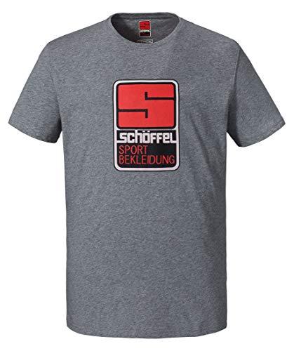 Schöffel Herren Originals Kitimat T-Shirt, Silver Filigree, 50