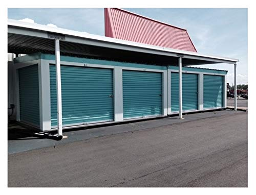 Great Features Of DuroSTEEL Janus 10'x9' Econmical Insulated 1950i Series RV Shed Roll Up Door