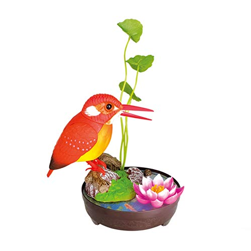 FYHappy Singing Chirping Simulation Birds Toys Décor with Real Bird Calls...