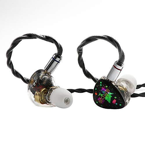 Linsoul Shuoer EJ07 Electrostatic Driver DD BA Hybrid HiFi In-Ear Earphones IEMs with 6N Single Crystal Copper 0.78mm 2Pin Cable