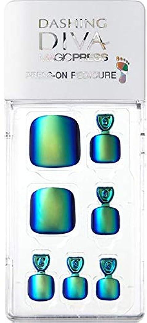 印をつける恩恵退化するMDR177P:ペディキュア【ダッシングディバマジックプレス】DASHING DIVA MAGICPRESS PRESS-ON GEL-PEDICURE 1BOX(24TIPS)