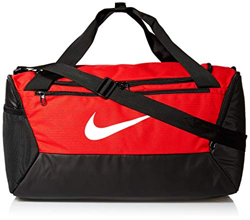Nike Nk Brsla S Duff-9.0 (41L), Borsa Sportiva Unisex – Adulto, University Red/Black/White, MISC