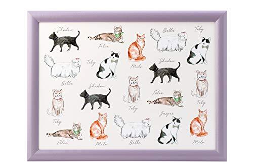 English Tableware Co. Pastel Pets Cat Lap Tray