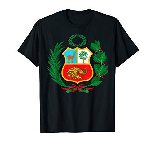 Peru Shirt Peruvian Escudo Coat of Arms Men Women T-Shirt