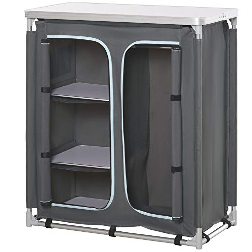 Outsunny Campingschrank Küchenbox...