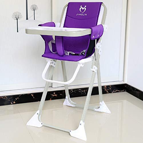 Chaise de bébé enfants à manger chaise pliable Portable Chaise bébé Hôtel Restaurant Enfants Table à manger chaiseB