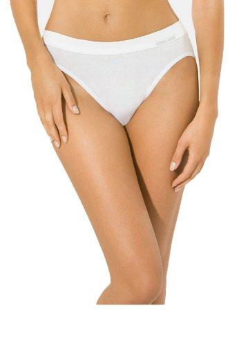5 Stück Jazzpants Sport Edition Damen Unterwäsche Slip Unterhose 100{d798760a09409f5dc908232ec7e0fb56ef3b85380d937a896486e69879a82709} Bio Baumwolle Farbe: weiß Größen 38-48 Größe 46