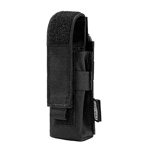 OneTigris Flashlight Pouch Holster Tactical Molle 1000D...