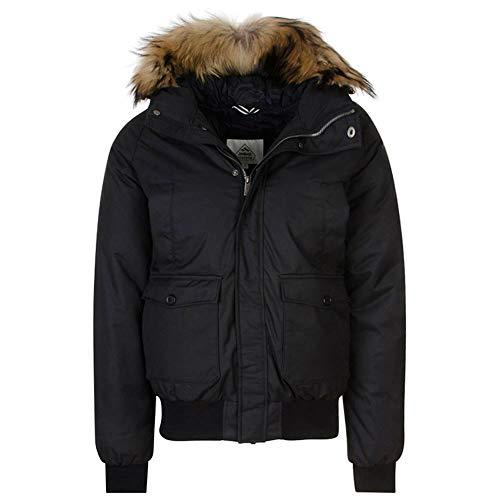 Pyrenex Men's Mistral Fur Jacket Black XL