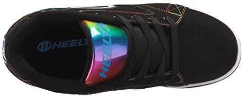 HEELYS Heelys Jungen Propel 2.0 Turnschuhe, Schwarz (Black/Rainbow Foil), 31 EU