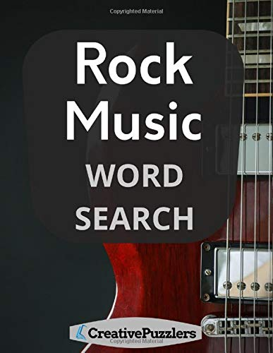 Rock Music Word Search: Rock and Roll Puzzle Book
