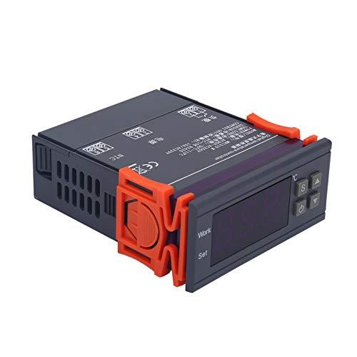 DAUERHAFT Calibración de Temperatura del Controlador de Temperatura Digital de Pantalla LCD de Amplia compatibilidad, para refrigeradores
